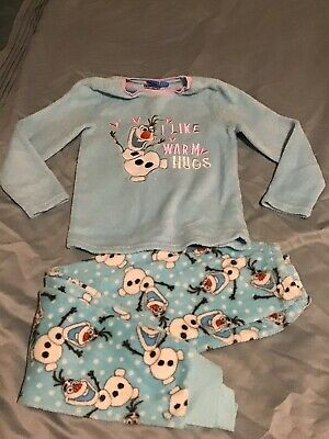 Girls Olaf Fleecy Pyjamas 8-9 Years (1)