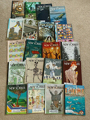 Lot of 20 NEW YORKER MAGAZINE Back Issues, 2014