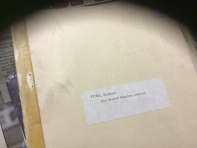 Old Sir robert menzies oration document richard pipes