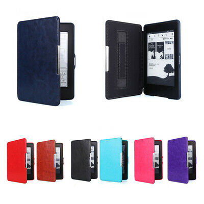 For Amazon Kindle Paperwhite 4 10th Gen Ultra Slim PU Leather Case Smart Cover@