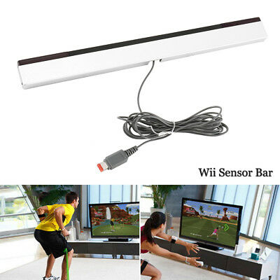 Wired Remote Motion Sensor Bar Infrared IR Inductor for Nintendo Wii U Wii