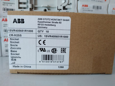 NEW IN BOX ASEA BROWN BOVERI CR-M2SS CRM2SS