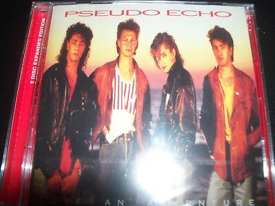 Pseudo Echo – Love An Adventure - 2 Disc Expanded Edition CD – New