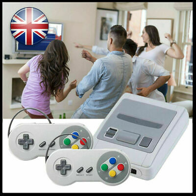 Retro HDMI TV Video Games Console 621 games SNES+2 Game Controllers Pro Nintendo