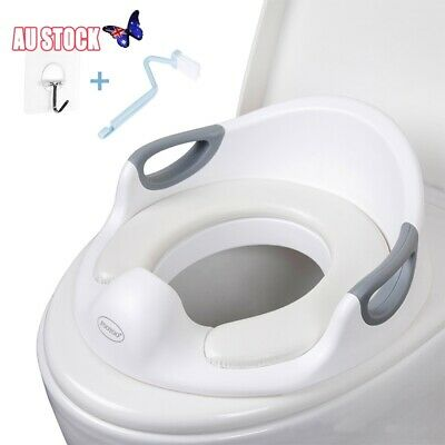 Baby Toilet Seat Training Child Toddler Kid Safe Potty Trainer Chair Tool AU
