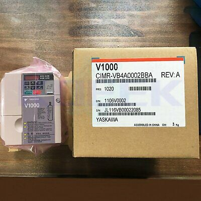 Yaskawa inverter 1pc new CIMR-VB4A0002BBA fast delivery