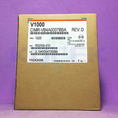 Yaskawa inverter 1pc new CIMR-VB4A0007BBA fast delivery