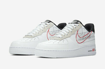 Nike Air Force 1 Low Removable Swoosh Pack Black CT2252 001