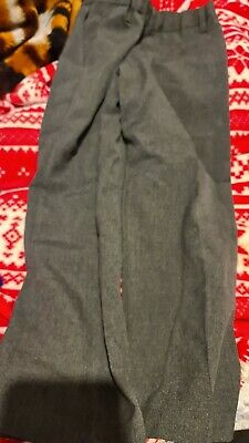 Lovely Boys George pull up Grey School Fashion Pants Age 4-5yrs