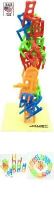 Multiplayer Balancing Toys High Quality Plastic Chair Stacking Intelligence Game