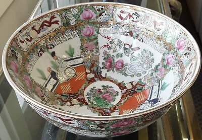 Enamel and gold painted bowl, Chinese