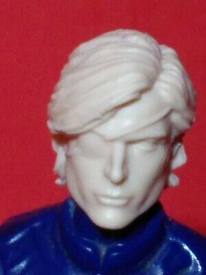"""MH092 Custom Cast Sculpt part Male head cast for use with 3.75/"""" action figures"""