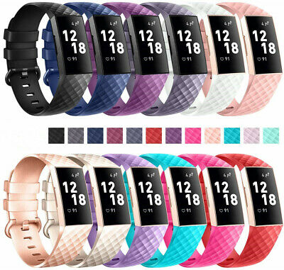 Fitbit Charge3 Wrist Straps Wristbands Best Replacement Watch Bands Accessory UK
