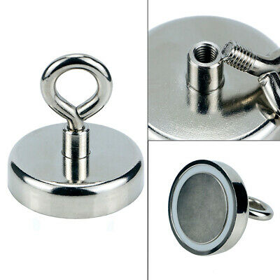 Powerful Round Neodymium Magnet Hook Rescue Magnet Fishing Equipment New ewrr