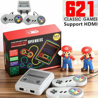 621 Games in 1 Classic Mini Game Console NES Retro TV HDMI Gamepads Nintendo UK