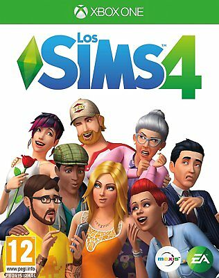 The the Sims 4 Xbox One in Spanish Spanish New Sealed Xbox One