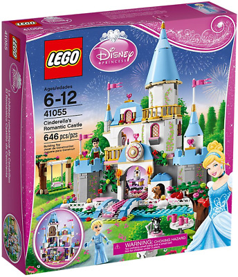 LEGO Disney Princess 41055 Cinderella's Romantic Castle Set (646 pc) NEW Retired