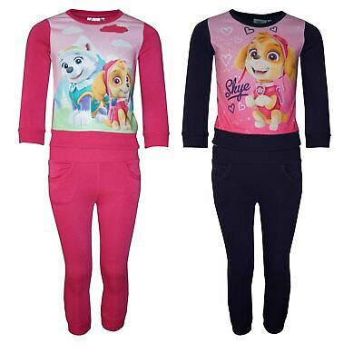Girls RH1499 Paw Patrol Tracksuit / Sweatshirt & Jogging Bottoms Set 3-6 Y