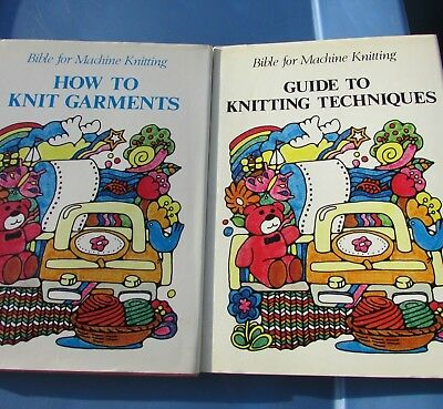 Machine Knitting Bible Book Guide to Knitting Techniques How to Garments Rare