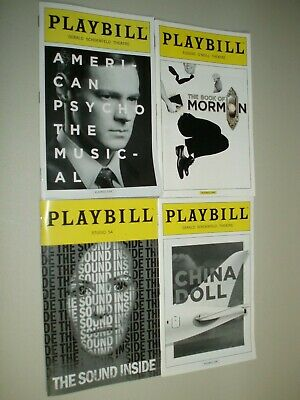 American Psycho, Book Of Mormon(2), China Doll, The Sound Inside, (Any5 for $20)