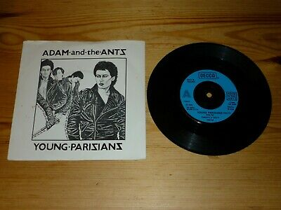 Adam And The Ants Decca Records Young Parisians Cool Unisex T Shirt B359
