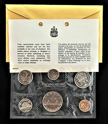 1969 Canada Proof Like Pl Set