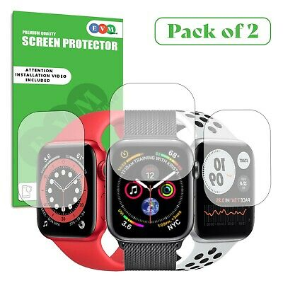 Screen Protector For Apple Watch Series 1 2 3 4 5 TPU FILM Cover Clear Curved