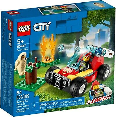 Lego City 60247 Great Vehicles City Forest Fire New Building Kit