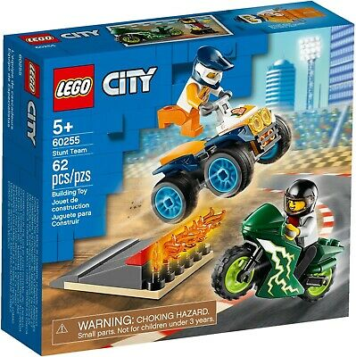 Lego City 60255 Great Vehicles City Stunt Team New Building Vehicles Kits