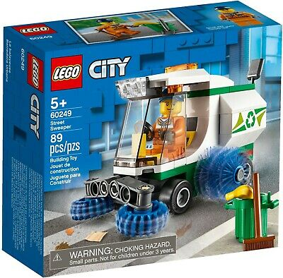 Lego City 60249 Great Vehicles City Street Sweeper Vehicle New Building Kit