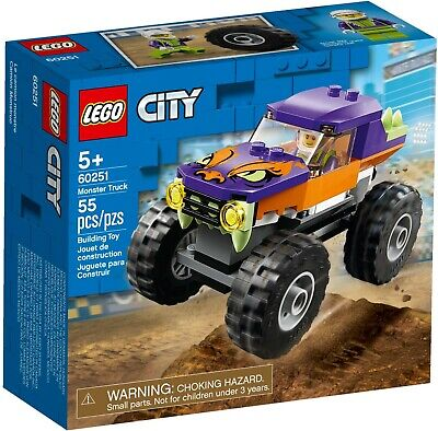Lego City 60251 Great Vehicles Monster Truck Vehicle Building Playset New