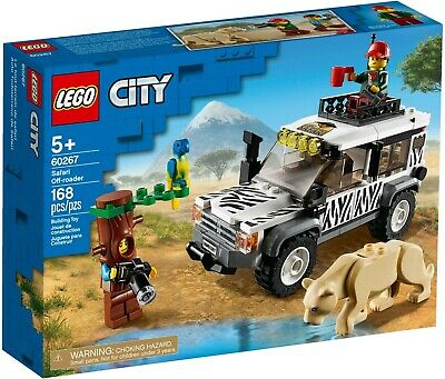 Lego City 60267 Great Vehicles Safari Off-Roader Adventure New Building Kit