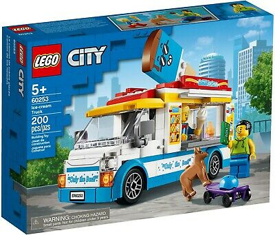 Lego City 60253 Great Vehicles Ice-Cream Truck New Building Playset
