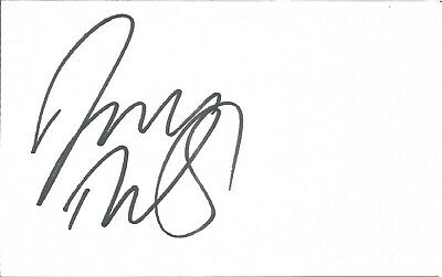 Football Autograph David Thopmson Blackburn Rovers Signed 14 x 9cm Card U2023