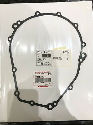 Kawasaki ZX10R Clutch Cover Gasket, Genuine part 11061-0754, Years 2015-19,