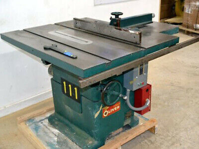 """Oliver 270-D 16"""" Table Saw with Short Stop Brake  --WE SHIP--"""