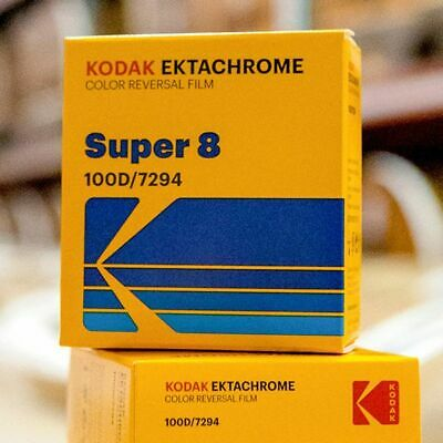 Kodak Ektachrome 100D Super 8mm Color Reversal Film (FRESH FROM THE FACTORY!)