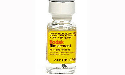 Kodak Professional Grade Film Cement (Lowest Price / Secure Shipping!)