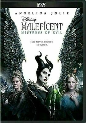 Maleficent: Mistress of Evil (DVD,2019) NEW <<<FREE SHIPPING>>>