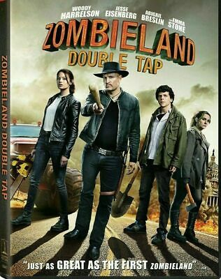 Zombieland: Double Tap (DVD,2019) NEW