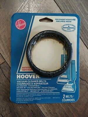 Hoover Vacuum Cleaner Belts Part Number 40201048 (2 Belts