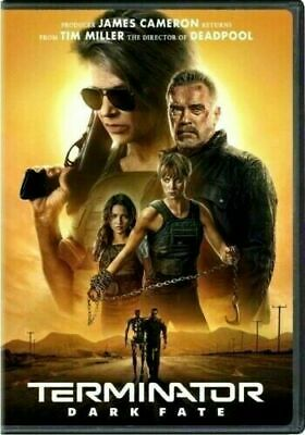 Terminator: Dark Fate (DVD,2019) NEW