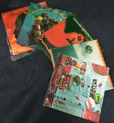 Lot of 5 Soul, R&B, Jazz, Funk & Disco LP's by Isaac Hayes & MORE! (SEE DETAILS)