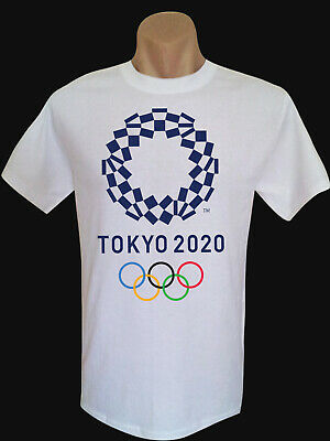 Tokyo 2020 Olympic Design A Quality Cotton Men's T-Shirt  Many Colors to Select.