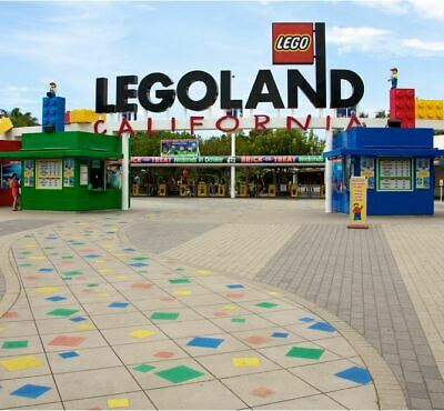 (6) Legoland California Hopper tickets ex 3/30/20