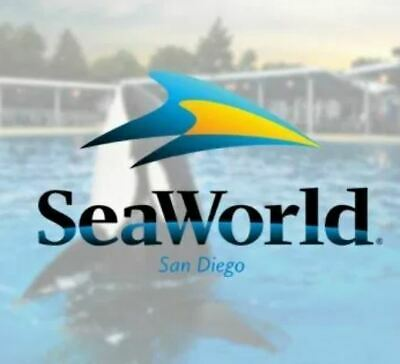(4) Tickets to Seaworld Orlando, San Antonio, or San diego ex 6/2020