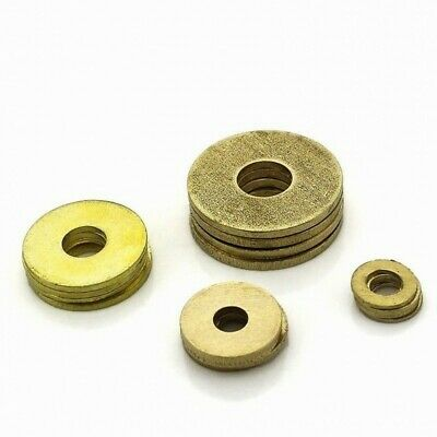 M2~M20 High Quality Washers New Brass Penny Repair Washers Metric Flat Washers