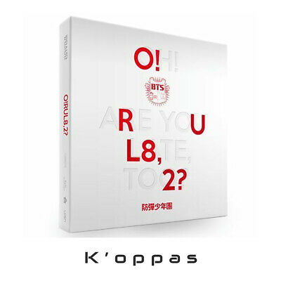 BTS O!RUL8,2? 1st Mini Album CD+74p Booklet +2p Photocards+Folded Poster Kpop