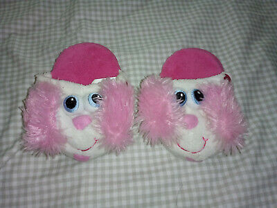 Pink Stompeez Slippers Size Small UK Infant 7-9