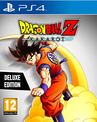 Dragon Ball Z Kakarot Deluxe Edition Disc (PS4)
